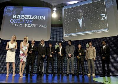 Les lauréats Babelgum