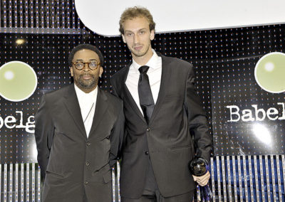 Spike Lee et Ambroise Becchio